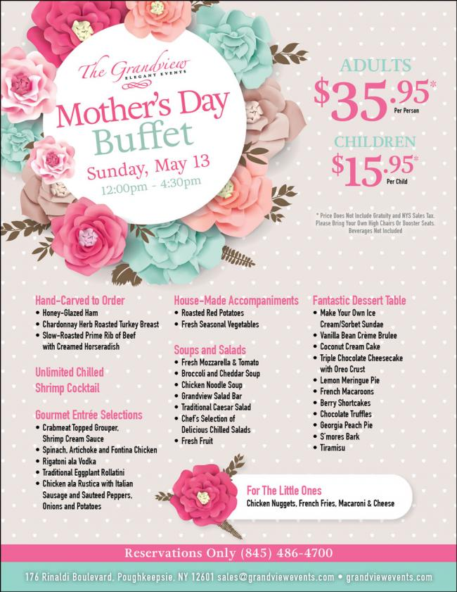 Mother\'s Day Buffet | What\'s happening in Hudson Valley